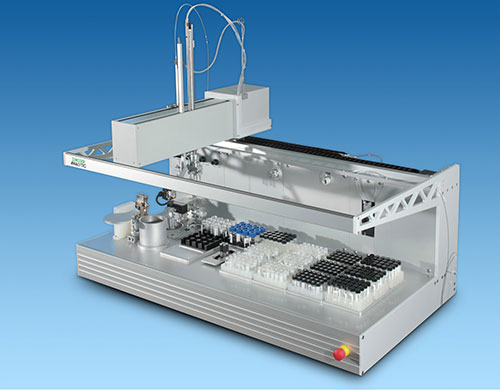 Automated Liquid Handling System Tecan Freedom Evo 150